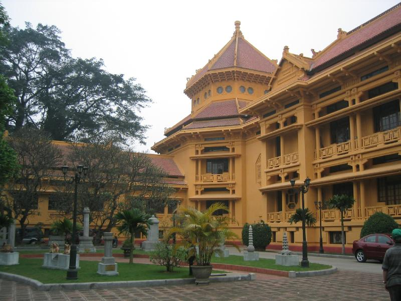 National Museum of Vietnamese History in Hanoi