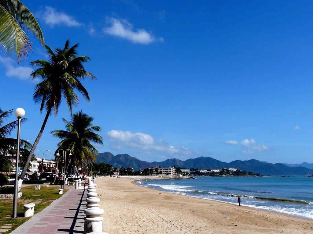 Nha Trang Beach, Central coast of Vietnam