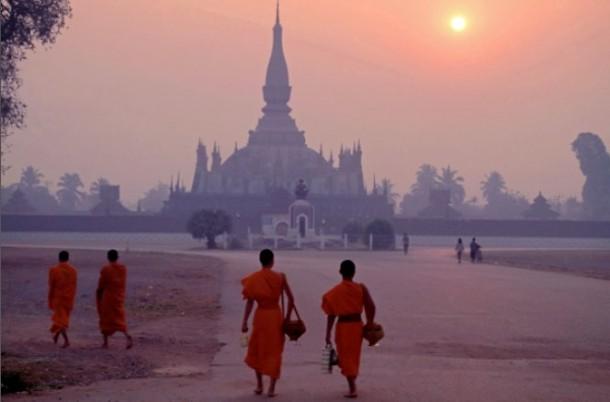 Peaceful Land in Laos