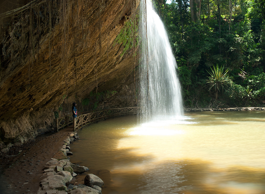 Prenn water fall in Dalat, Vietnam