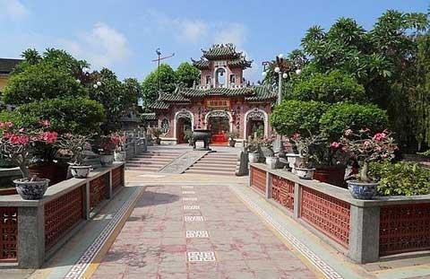 Quan Kong Temple in Hoi An, Vietnam