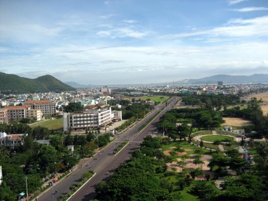 Quy Nhon city in Binh Dinh province of Vietnam