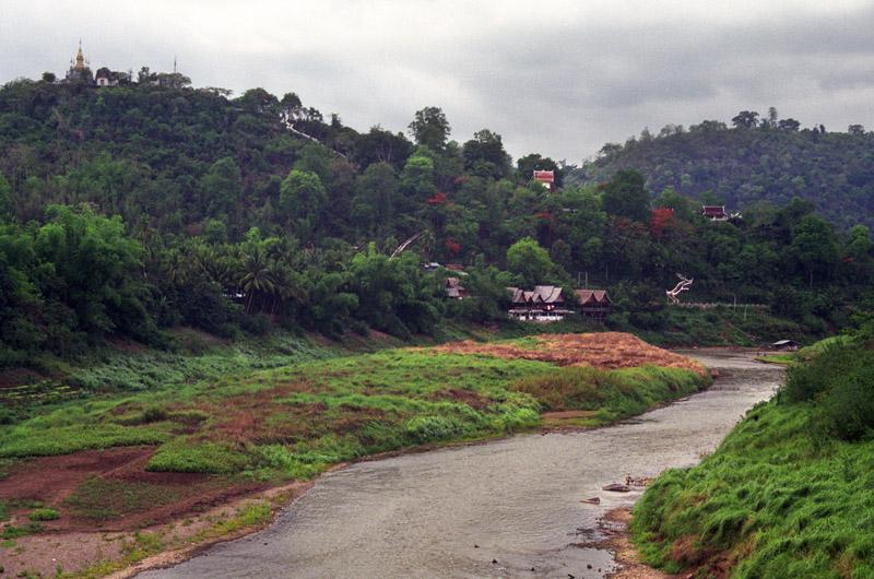 River valley, Luang Prabang, Laos