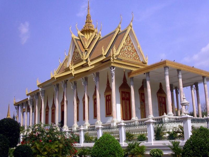 Royal Palace in Phnom-Penh, Cambodia