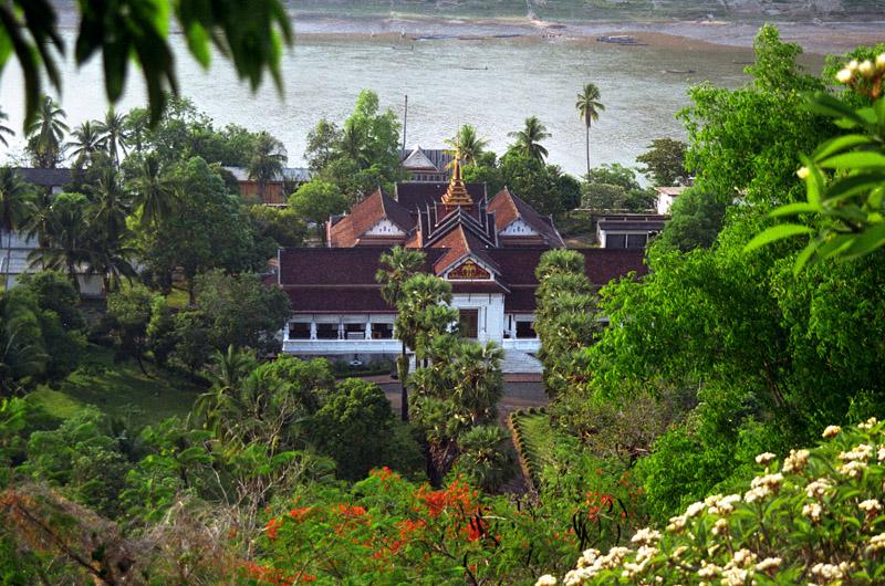 Royal Palace on the back of river, Luang Prabang, Laos