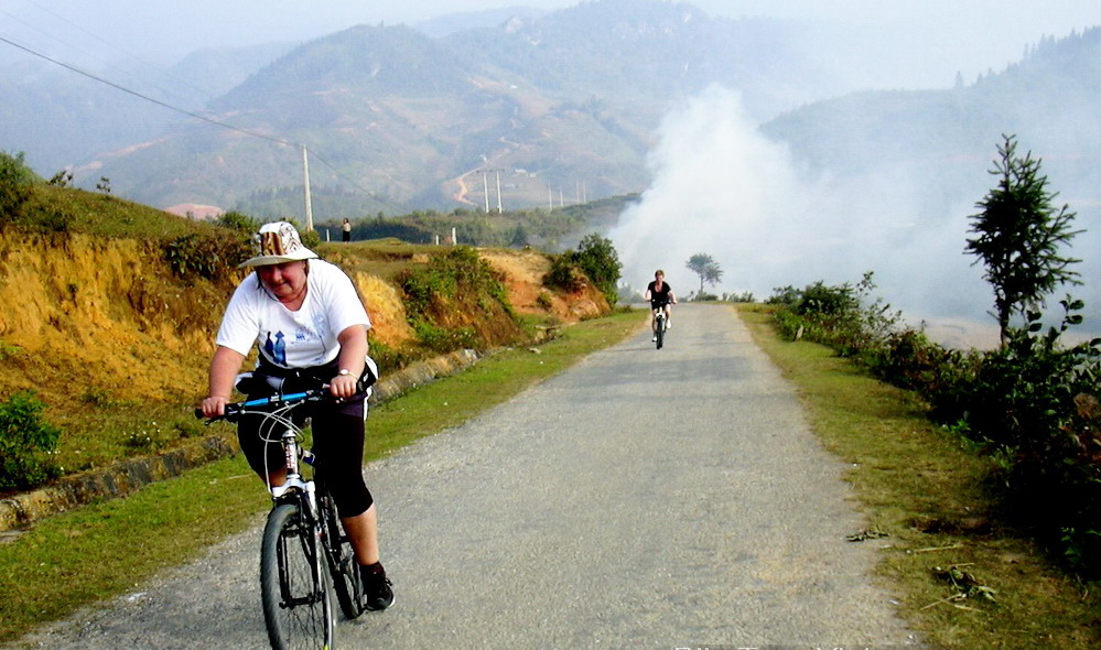 Northern Vietnam provides many mountain bking challanges