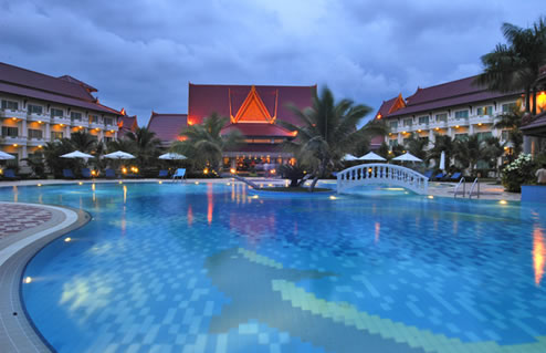 Sokha Beach Resort in Sihanoukville, Cambodia