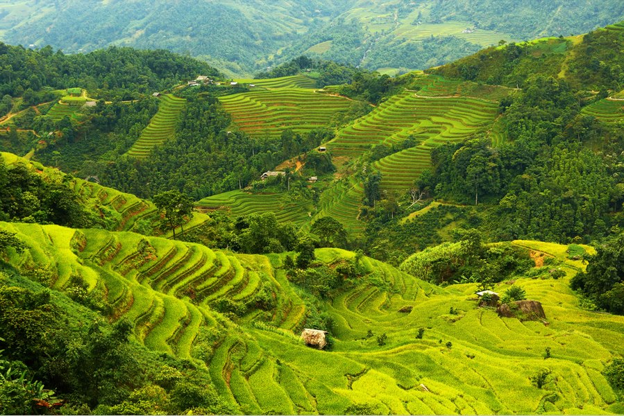 Son La Province in The Northwest of Vietnam