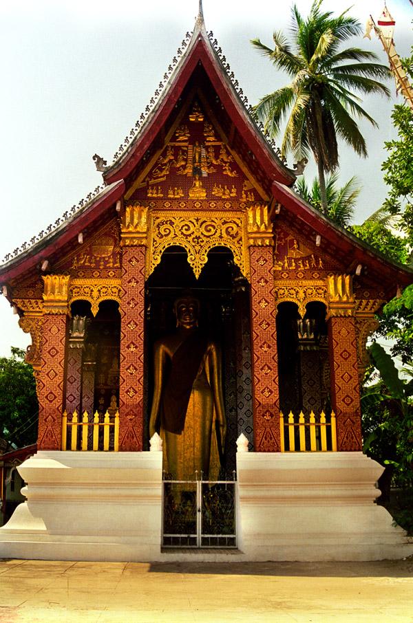 Standing Buddha, Luang Prabang, Laos