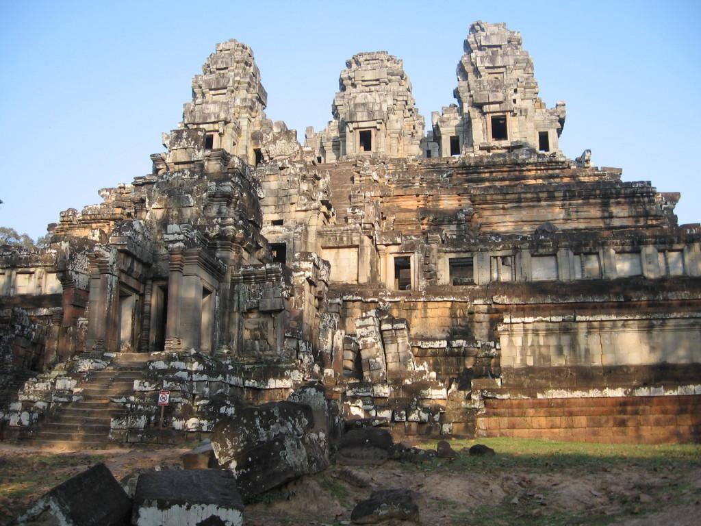 Ta Kaeo temple in Siem Reap, Cambodia