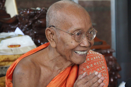 Tep Vong-Great Supreme Patriarch of the Kingdom of Cambodia.