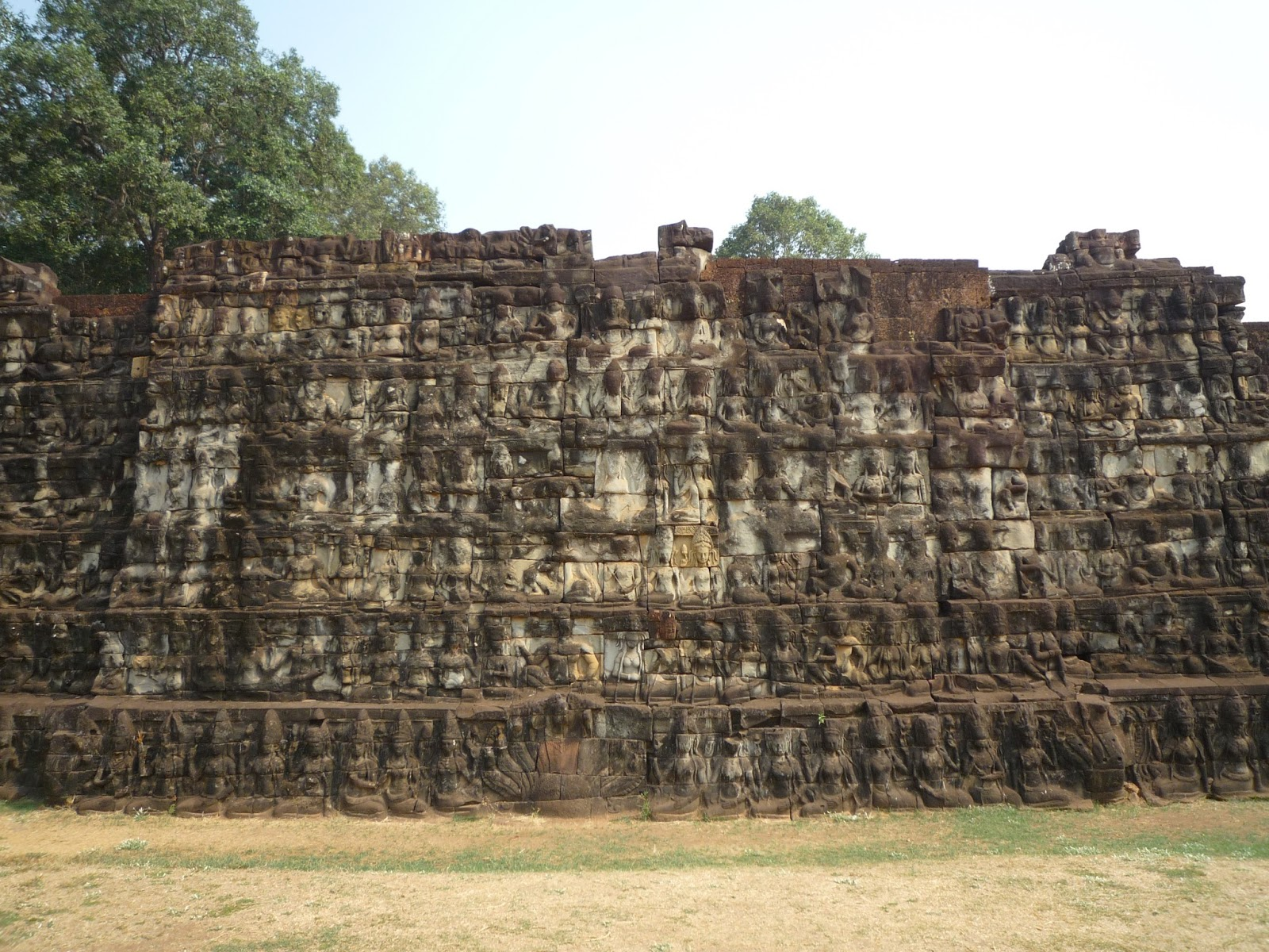 Exploring angkor thom in cambodia for Terrace of the leper king