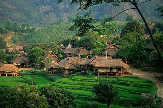 Thai Villages in Mai Chau Valley
