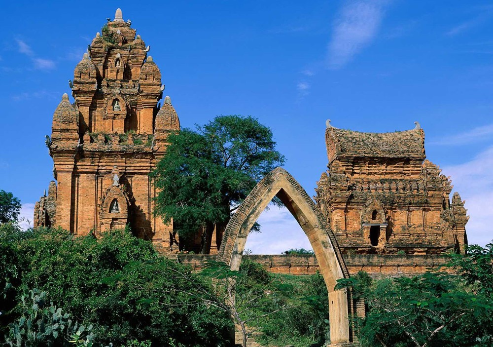 Thap Cham in Phan Rang city