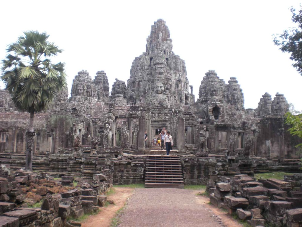 The Bayon Temple in Siem Reap, Cambodia