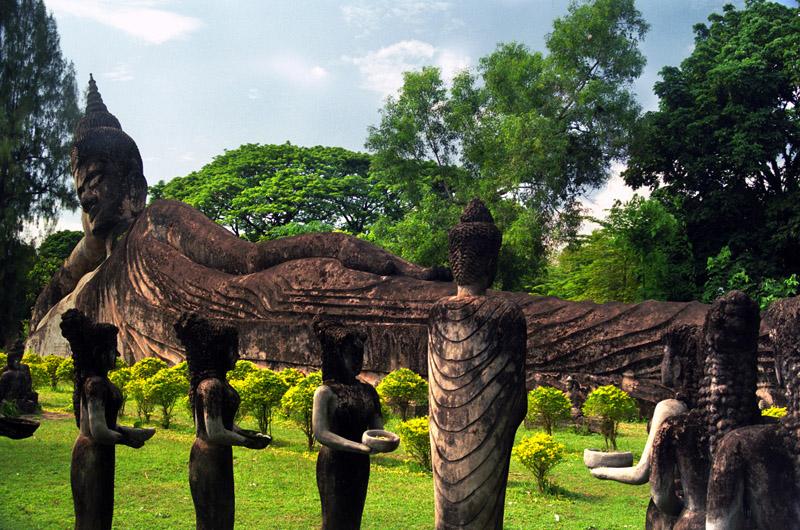 The Buddha Park, Vientiane, Laos