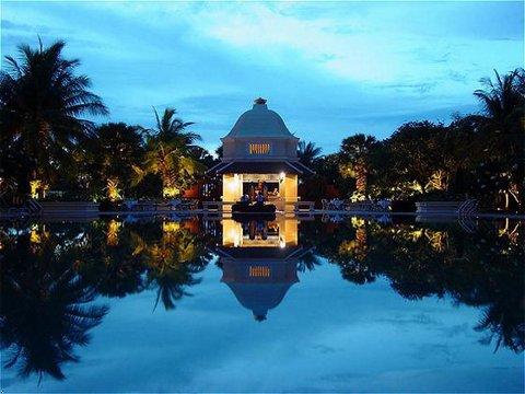 The Raffles Grand Hotel d'Angkor in Siem Reap, Camboida.