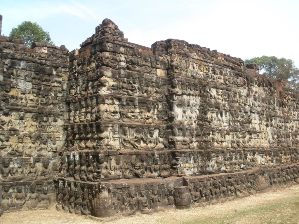 The Terrace of the Leper King, Siem Reap