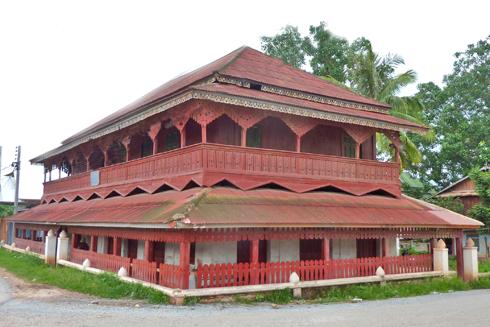 The Tribal Museum in Muang Sing, Laos
