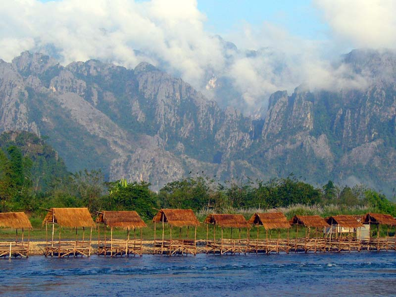 The magical Valley of Vang Vieng, Laos