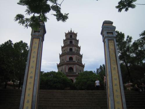 Thien Mieu Temple in Hue, Vietnam