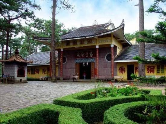 Thien Vuong Pagoda in Dalat, Vietnam