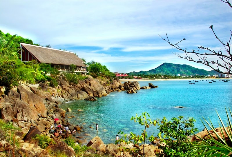 'Queen's Beach,' named for the wife of Bao Dai, the last king of Vietnam, in Quy Nhon