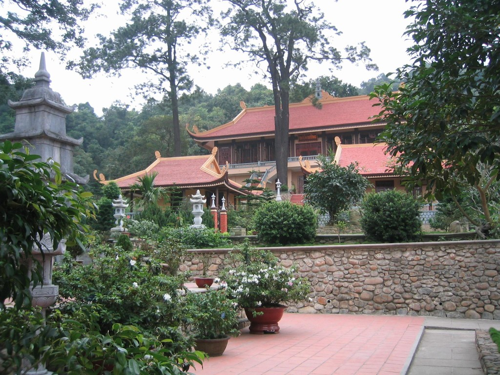 Truc Lam (Bamboo Forest) Zen Monastery in Dalat,Vietnam