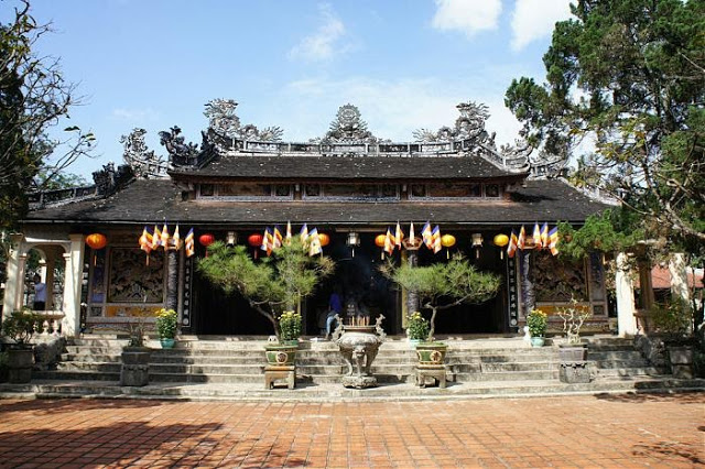 Tu Hieu Temple in Hue citadel, Vietnam