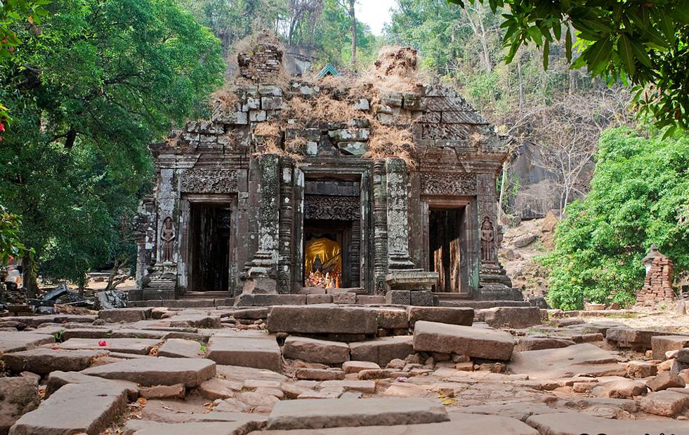 Vat Phu and Phu Asa Temples in Pakse, Laos