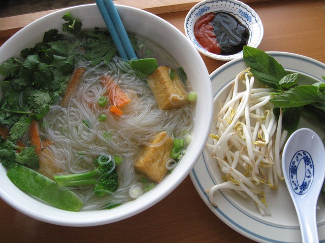 Pho chay - Vegetarian Noodle Soup