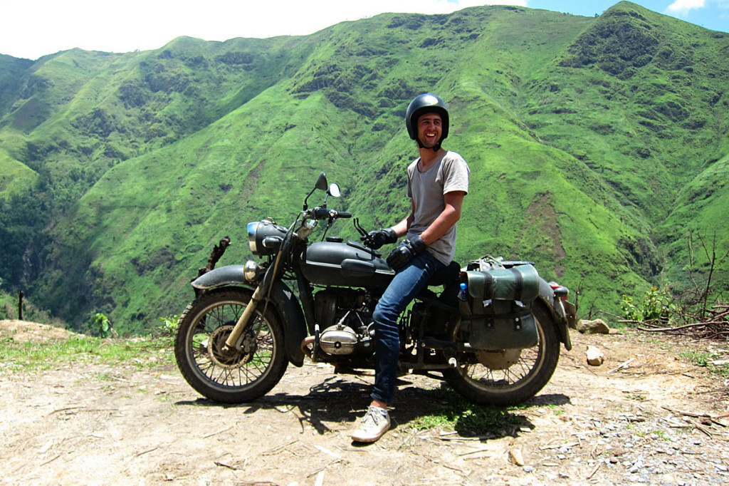 Motor cycling, an exciting outdoor  activity in Vietnam