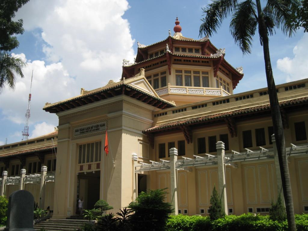 Vietnam History Museum in Ho Chi Minh city, Vietnam