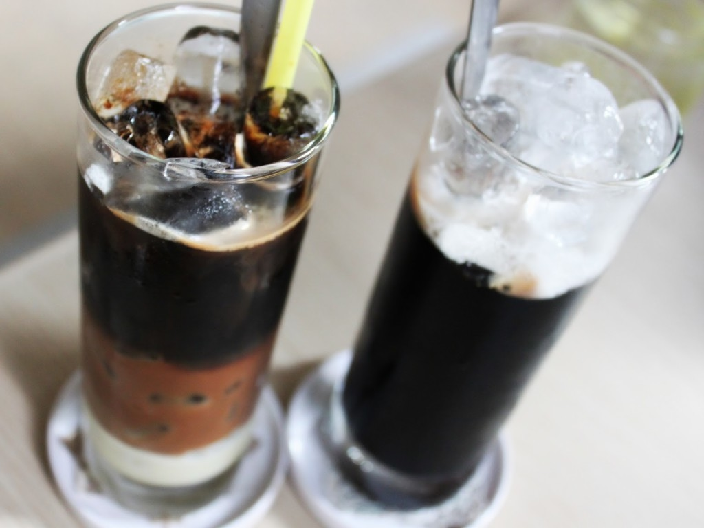 Vietnamese coffee with ice