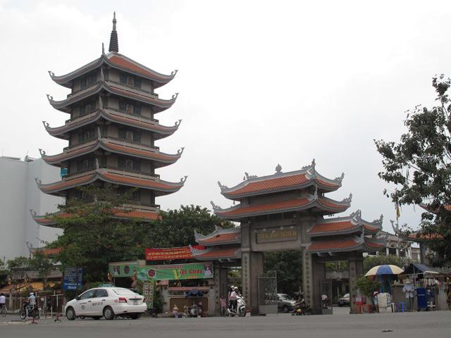 Vinh Nghiem Pagoda, Ho Chi Minh city, Vietnam