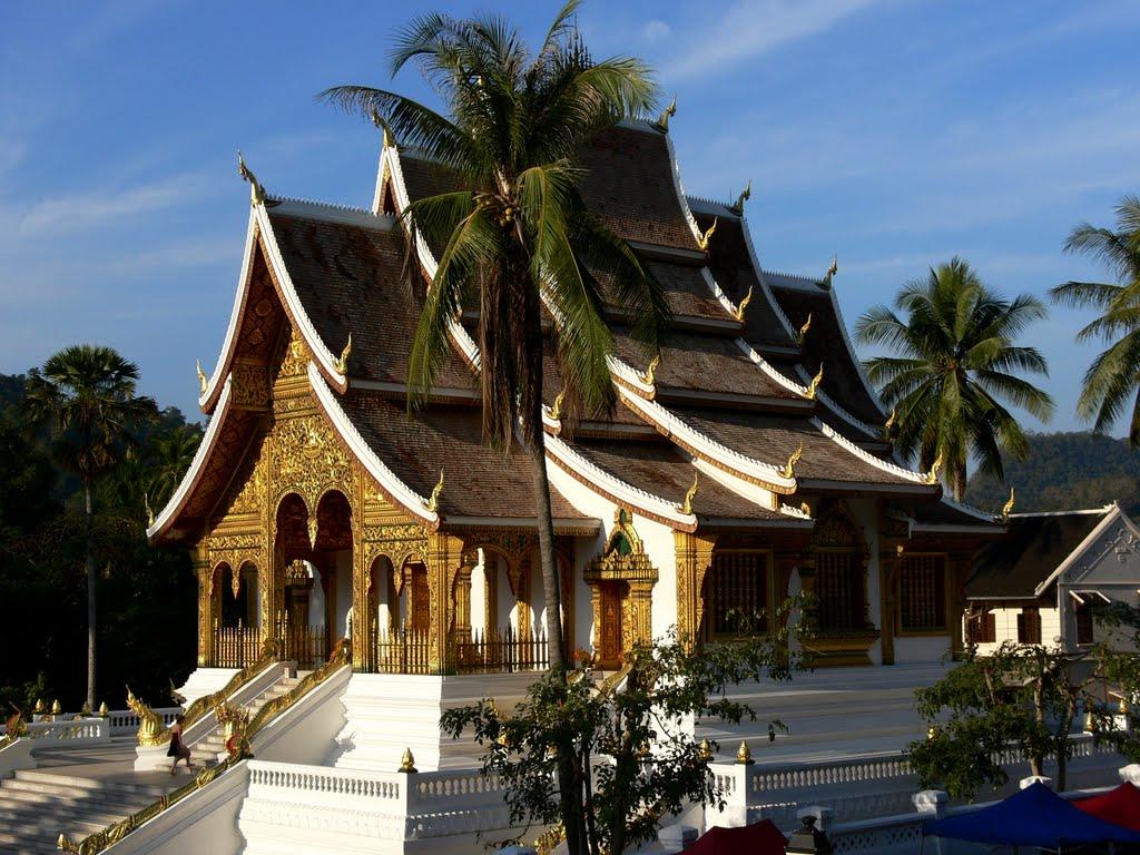 Wat Mai in Luang Prabang, Laos
