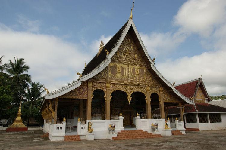 Wat Phra Maha That in Luang Prabang, Laos