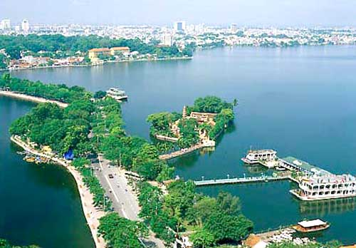 West Lake, Hanoi, Vietnam