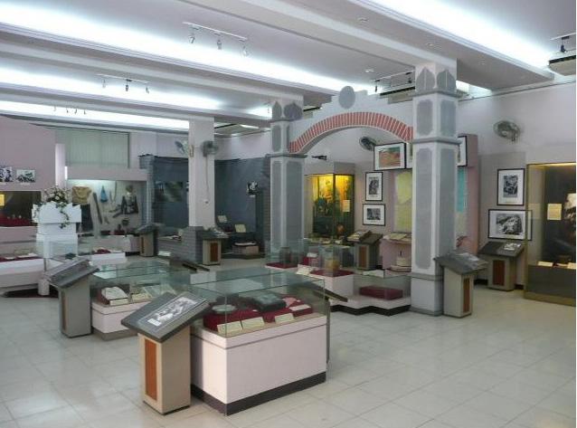 Inside Women's Museum in Hanoi, Vietnam