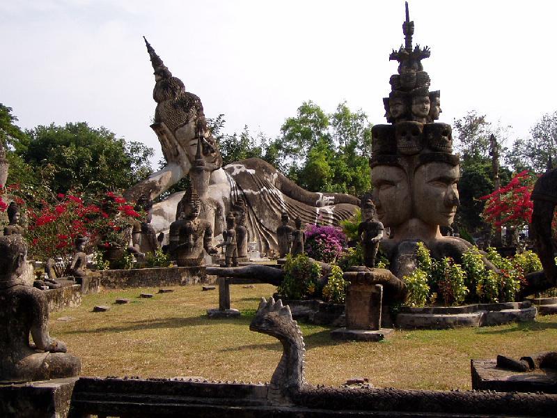 Xieng Khuan-Buddha Park in Vientiane, Laos