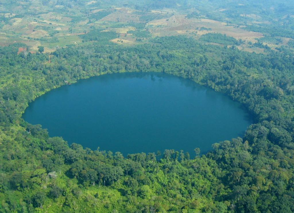 Yeak Loam Lake in Banlungm Ratanakiri, Cambodia