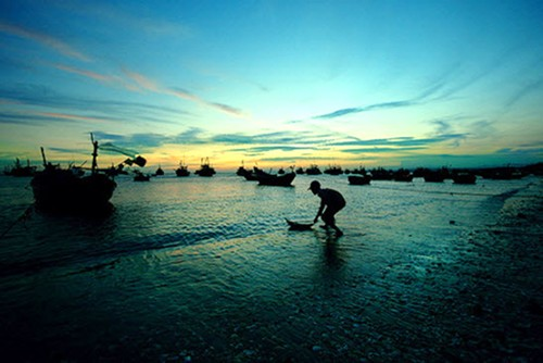 Thuan An Beach in Hue, Vietnam
