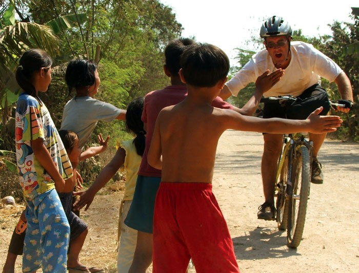 Cycling around Cambodia
