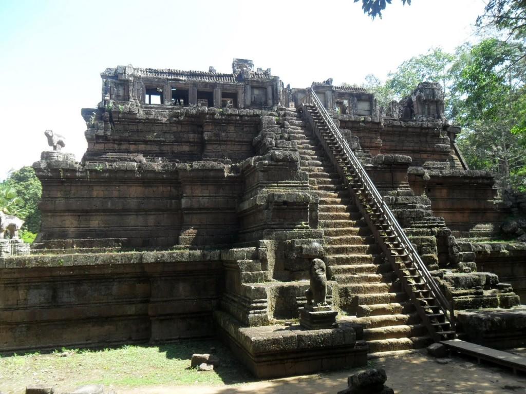 Steps Phimeanakas of Angkor Thom