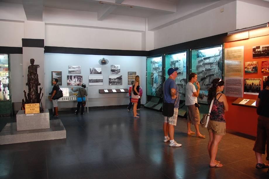 War remnants museum in Saigon
