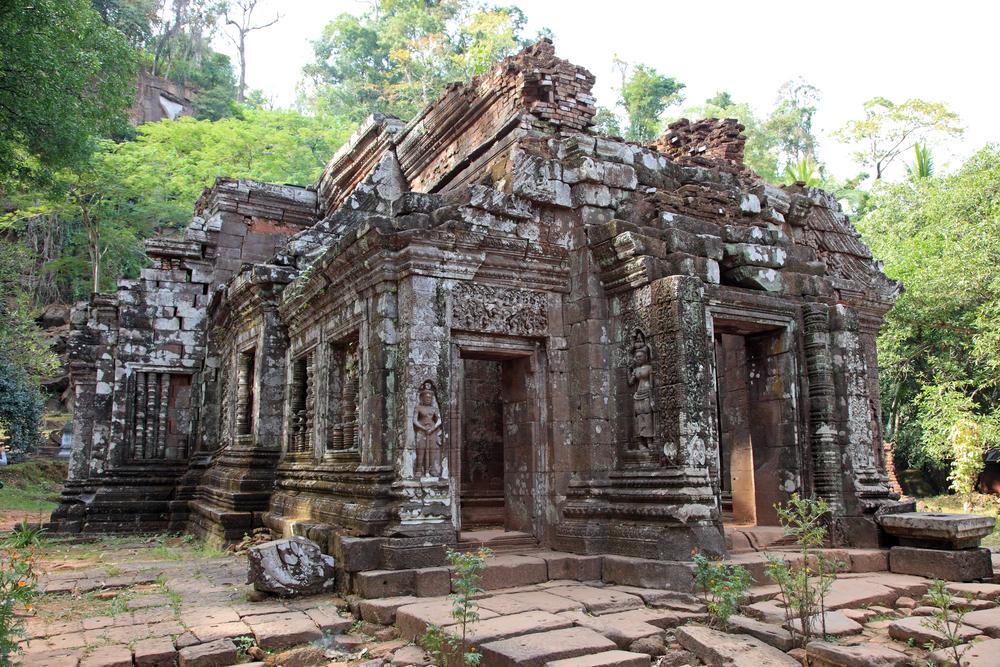 Wat Phou temple in
