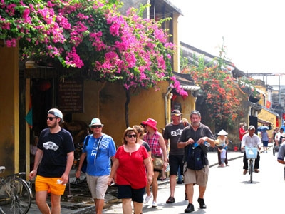 70 % international tourist willing to come back Vietnam.