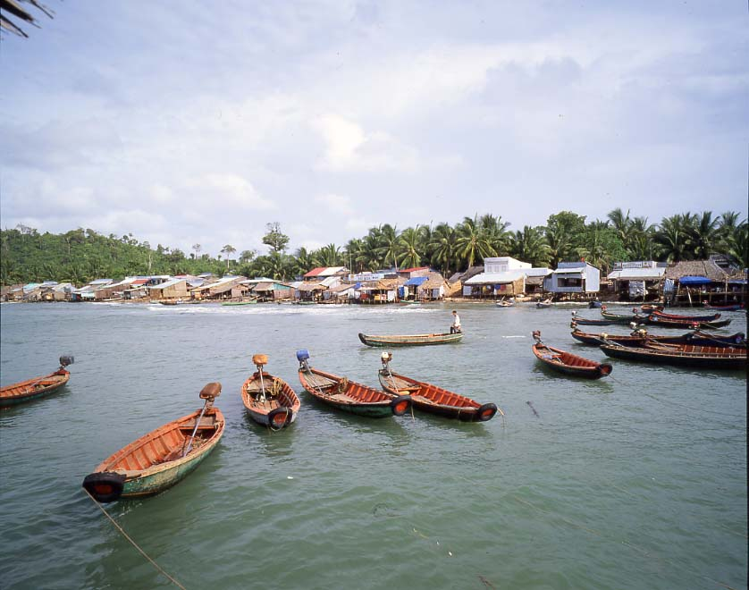 An Thoi harbour Phu Quoc