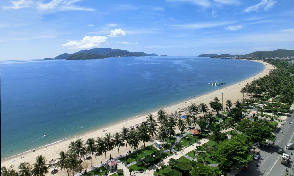 Nha Trang beach, Khanh Hoa province, Vietnam