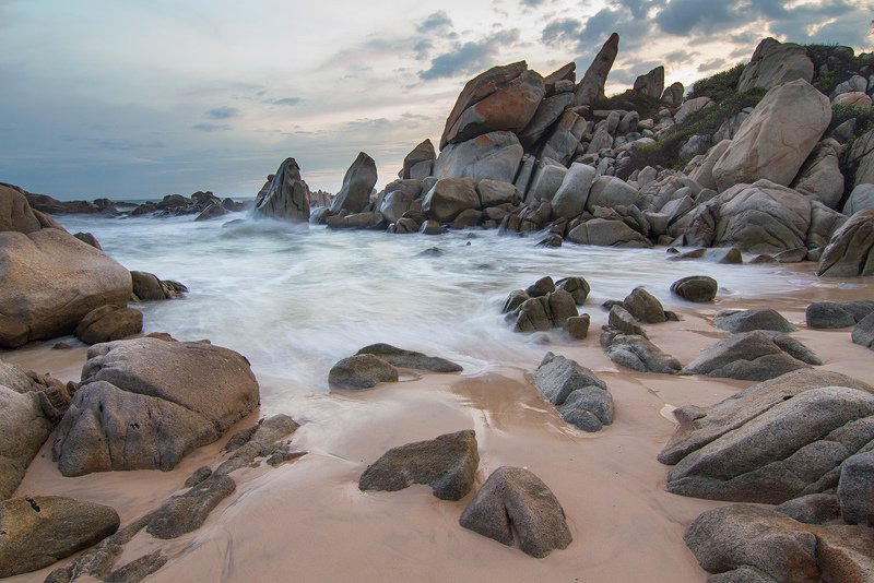 Nhay Rocks in Quang Binh, Vietnam.